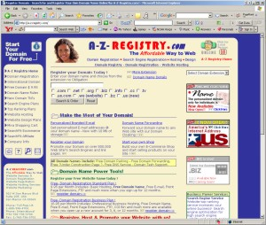 Register Domain - Search for and Register by a-z-registry.com