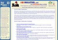 Search Engine Optimization by 101 Register.us