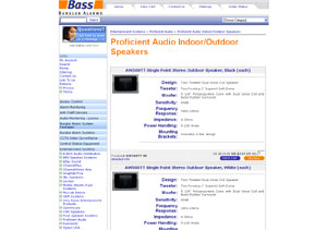 Proficient Audio Indoor/Outdoor Speakers by bassburglaralarms.com