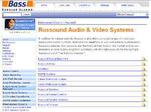 Russound Audio & Video Systems by bassburglaralarms.com