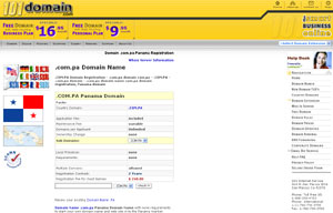 .COM.PA Domain Registration - Panama Domain Name COM.PA by 101domain.com