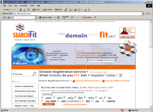 Domain Name Registration by domainsrus.net