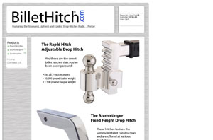 Drop Hitches by BilletHitch.com