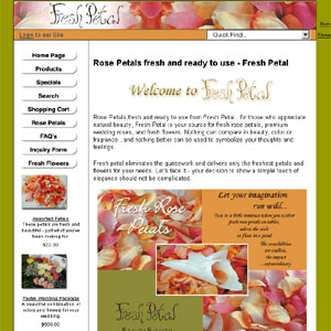 Fresh Rose Petals by freshrosepetals.com