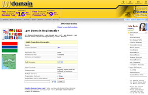 .GM Domain Registration - Gambia Domain Name GM by 101domain.com