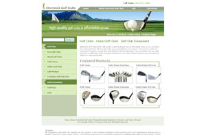 Golf Clubs - Clone Golf Clubs - Golf Club Components by overstockgolfclubs.com