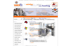 Hosting  - Web hosting by Searchfit.biz