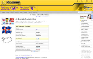.IS Domain Registration - Iceland Domain Name IS by 101domain.com