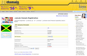 .JM Domain Registration - Jamaica Domain Name JM by 101domain.com