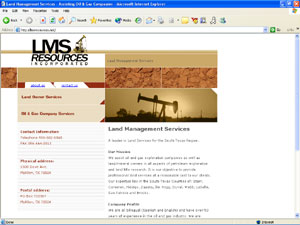 Land Management Services - Assisting Oil & Gas Companies