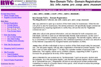 New Domain Tld's by registration.101order.com