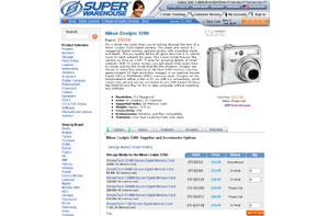 Nikon Digital Cameras by superwarehouse.com