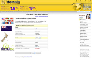 .NZ Domain Registration - New Zealand Domain Name NZ by 101domain.com