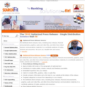 Optimized Press Release - Single Distribution by Searchfit.us