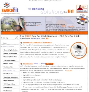 Pay Per Click Services - PPC Pay Per Click by Searchfit.us