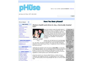 pHuse Hair Products by phuse.us.com