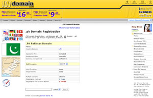 .PK Domain Registration - Pakistan Domain Name PK by 101domain.com