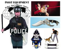 Police Equipment for Hawaii and Alaska at www.hipst.net