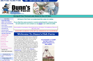 Pond and Fish Products by dunnsfishfarm.com