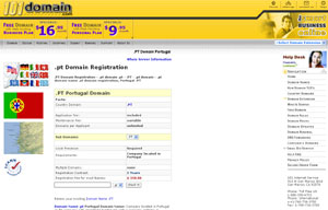 .PT Domain Registration - Portugal Domain Name PT by 101domain.com