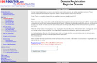Register Domain by search.101register.us