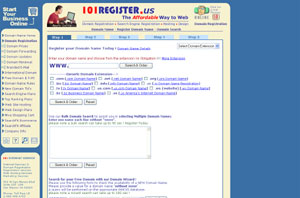 Register your Web Site - Online by 101register.us