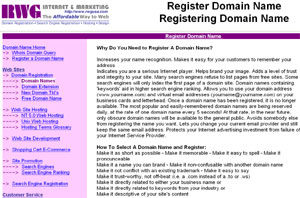 Registering Domain Name by register.101order.com