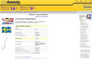 .SE Domain Registration - Sweden Domain Name SE by 101domain.com