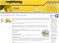 Search Engine Submission by 101registerme.com