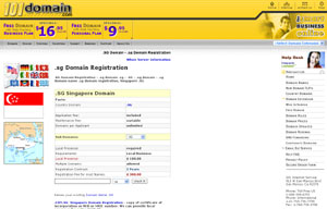 .SG Domain Registration - Singapore Domain Name .SG by 101domain.com