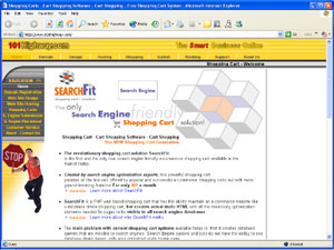 Shopping Cart Systems - SearchFit Shopping Carts by 101Highway.com
