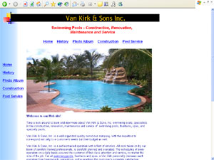 Swimming Pools and Fountains at vankirk-swimming-pools.com