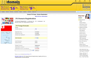 .TO Domain Registration - Tonga Domain Name TO by 101domain.com