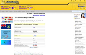 .VG Domain Registration - British Virgin Islands Domain Name VG by 101domain.com