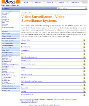 Video Surveillance Systems by bassburglaralarms.com