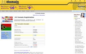 .VU Domain Registration - Vanuatu Domain Name VU by 101domain.com